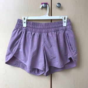 Light purple Lululemon shorts